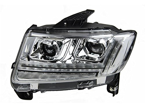 GOWE Car Styling for JEEP Compass 2011-2015 LED Headlight for Compass Head Lamp LED Daytime Running Light LED DRL Bi-Xenon HID Color Temperature:6000k;Wattage:35w 1