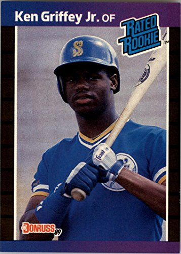 - 1989 Donruss #33 Ken Griffey Jr. Rated Rookie Card Mariners RC - NM-MT