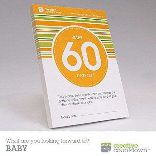 60-day Countdown to Baby Tear-off Calendar (Due Date Countdown)