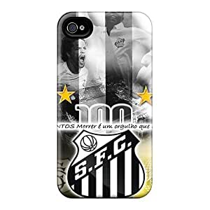 Iphone 4/4s Case Cover Skin : Premium High Quality Santos Fc Case