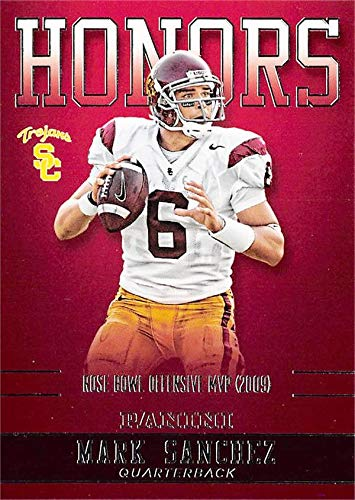 Mark Sanchez baseball card (USC Trojans, Rose Bowl Offensive MVP) 2015 Panini Team Collection Honors #MS-USC