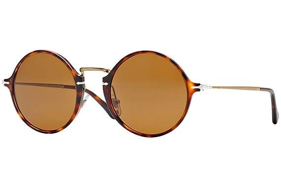 Amazon.com: Persol anteojos de sol po3091sm Havana W/Brown ...