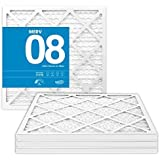 MervFilters 12x12x1 Air Filter, MERV 8, MPR 600, AC Air Filters - Replacement Furnace Filters - Protect Against Dust…