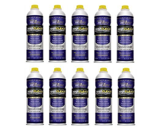 Royal Purple 11722-2PK Max-Clean Fuel System Cleaner and Stabilizer - 20 oz. Bottle (20 oz.(Pack of 10))