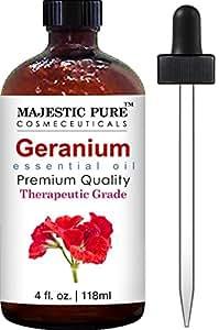 Majestic Pure Geranium Essential Oil, 4 fl. oz