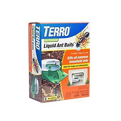 Terro 1806 Outdoor Liquid Ant Baits, 1.0 fl. oz. - 6 Count (6 Pack)