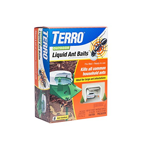 Terro 1806 Outdoor Liquid Ant Baits, 1.0 fl. oz. - 6 count by Terro