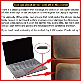 XISICIAO Transparent Keyboard Palm Rest Protector