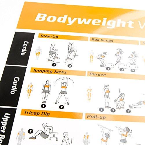 Yoga Workout Chart - 5