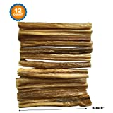 123 Treats – 6″ Bully Sticks for Dogs (12 Count) 100% Natural Dog Chews For Sale
