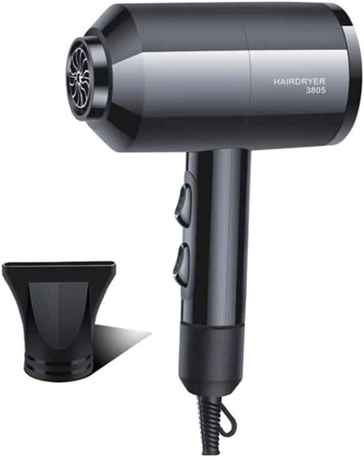 MorningBreeze Fast Dry Hair Blow Dryer Portable Household Hair Dryer Lightweight Travel Blow Dryer AC Motor with Diffuser