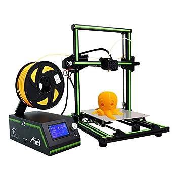 Amazon.com: Impresora 3d Anet E10 220 x 270 x 300 mm Dual ...
