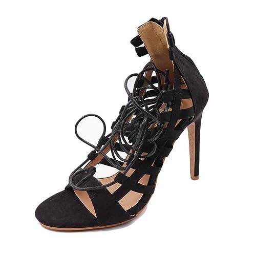 Chaussures Sandales Femmes Talons Minces Chaussures Pompes Femmes Chaussures De Mode Super Talons Hauts Sandales