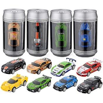 mini coke can speed rc radio remote controlled micro racing car toys kids game