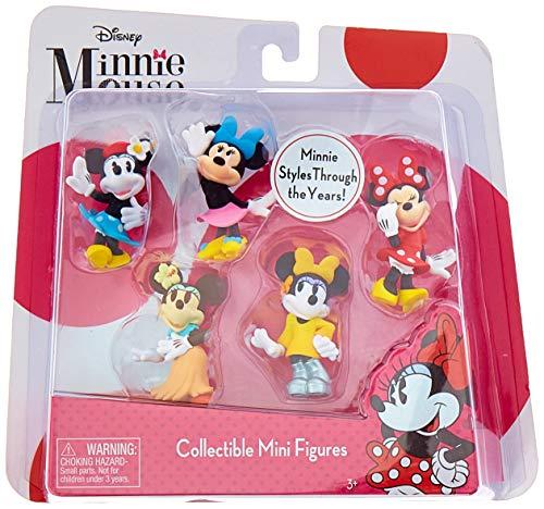 Just Play Minnie Mini Figure Set (5 Pack) - Mini Figure Play Set