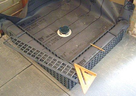 GOOF PROOF SHOWER KP-543 Kirb Perfect Curb