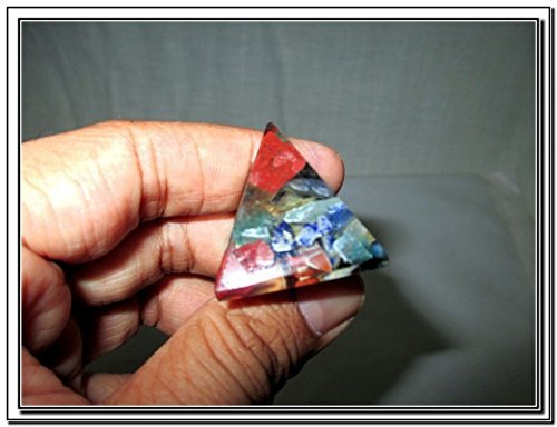 Wow Chakra Single Baby Pyramid 20 - 25 mm Chokurei X-mas Crystal Gemstones Unique Marvelous