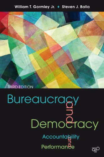 Download Bureaucracy and Democracy: Accountability and Performance Pdf