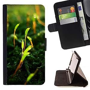 - Vibrant - - Monedero PU titular de la tarjeta de cr????dito de cuero cubierta de la caja de la bolsa FOR Samsung Galaxy S6 EDGE RetroCandy