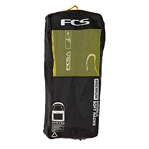 Surf Accessories FCS Double Soft Racks uni Yo0DcWqFz