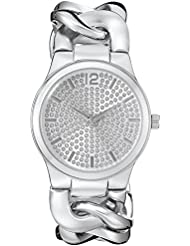 Vernier Paris Womens VNRP11201SS Analog Display Japanese Quartz Silver Watch