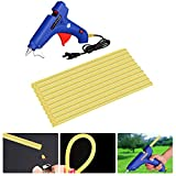 Super PDR 21Pcs PDR Kits Paintless Dent Repair Tool High Temperature Hot Melt Glue Gun with 20Pcs Adhensive Glue Sticks for DIY Craft Projects and Quick Repair, 100W