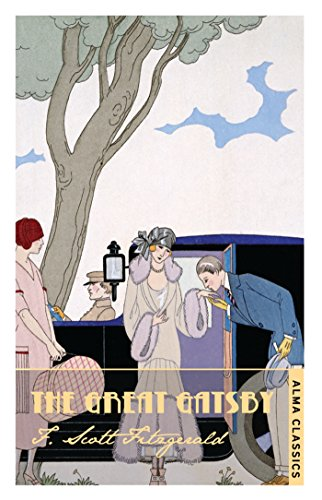 Book cover from The Great Gatsby by Scott F Fitzgerald