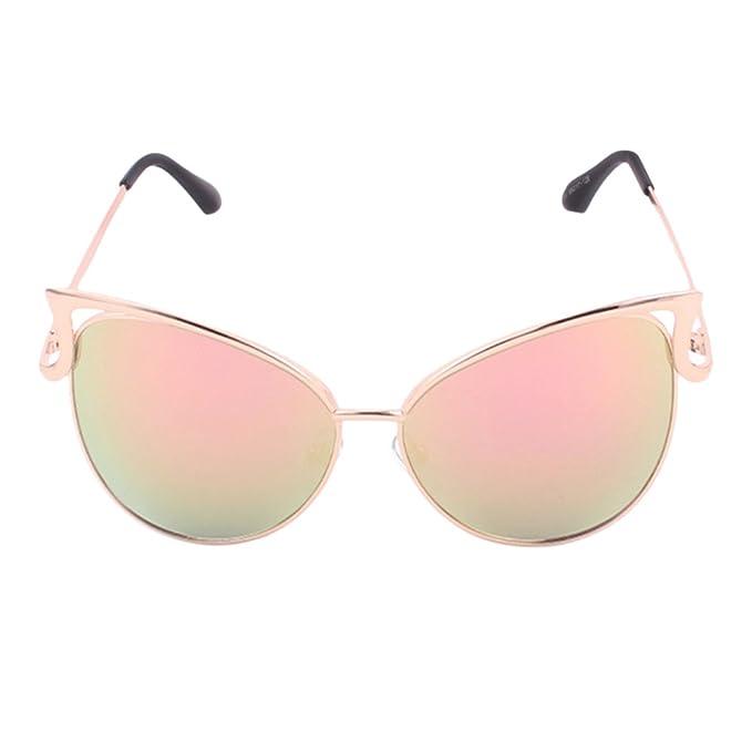 Forepin® Gafas de sol mujer a Espejo ojo de gato polarizadas ...