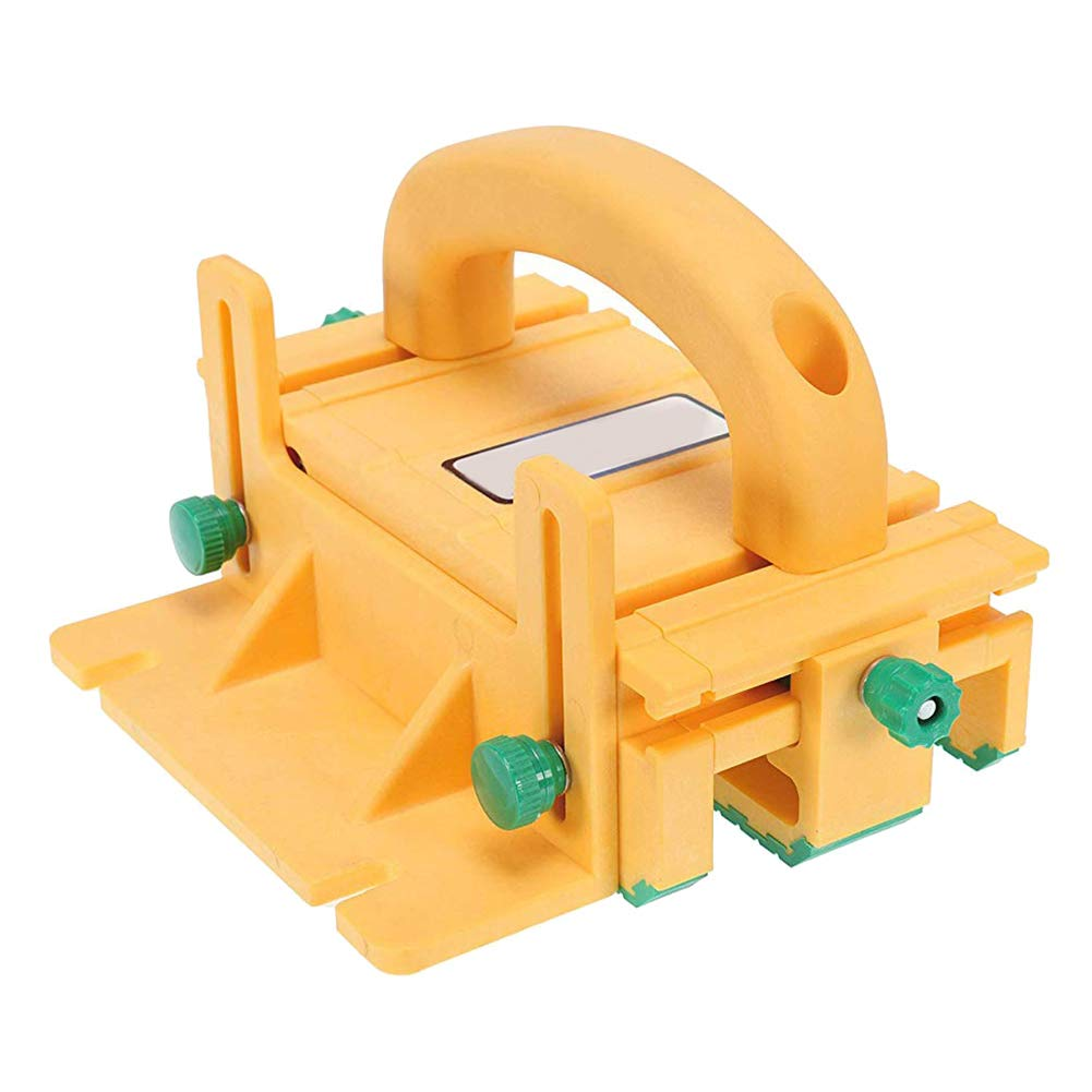 Guajave 3D Safety Pusher Pushblock Flipping Woodworking Tools for Table Band Saws Router Tables