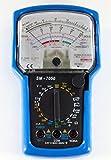 Analog Multimeter, 20-range AC/ DC general purpose, 7 functions