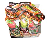 Ausome Candy Halloween Ooze Pops 3-d Oozing Lollipop Candy (Pack of 12)