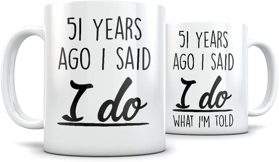 Amazon Com 51st Anniversary Gift For Couple Funny 51 Year
