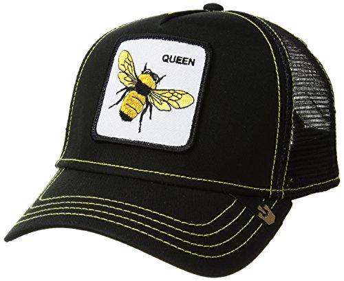 Goorin Bros. Men's Queen Bee Animal Farm Trucker Cap, Black, One (Queen Trucker Hat)