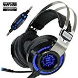 ENHANCE Scoria Gaming Headset for Computer & PS4 with USB 7.1 Surround...
