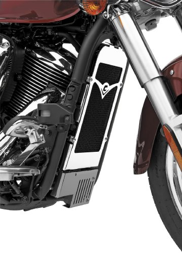 Cobra Radiator Cover for Kawasaki 2006-13 VN900 models