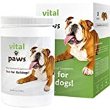 Cheap Vital Paws | Daily Superfood Biscuits for Bulldogs (Dog Multivitamins & Supplements) (Contains Omega-3 Fish Oils, Turmeric, Probiotics, and More!)