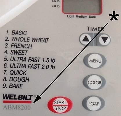 welbilt Pan máquina remo ABM 8200 abm8200 hoja nueva parte ...