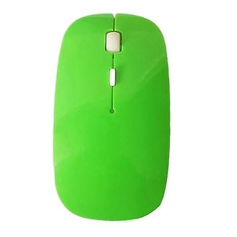 2,4 gHz inalámbrico portátil ratón óptico ratón con Nano receptor USB para portátil,