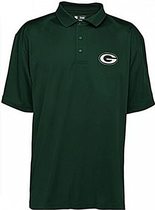 Amazon.com   Green Bay Packers NFL Team Apparel Green Polo Golf ... 5de1601b4