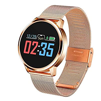 ZHLYQ Smart Wristband Pedometer Smart Watch Men S And Women S Heart Rate Blood Pressure Oxygen Monitor Movement Estimated Price £71.02 -