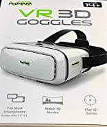 Promark Premium Quality Virtual Reality VR 3D Goggles -- Compatible with all ProMark Drones (Sold Separately)