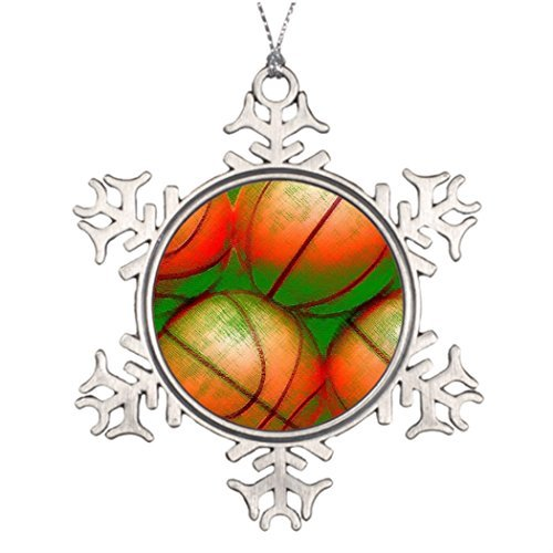 Metal Ornaments Vintage Old Style Retro Durable Quality Material Affordable Ideas For Decorating Christmas Trees Christmas Tree Snowflake Ornament ()