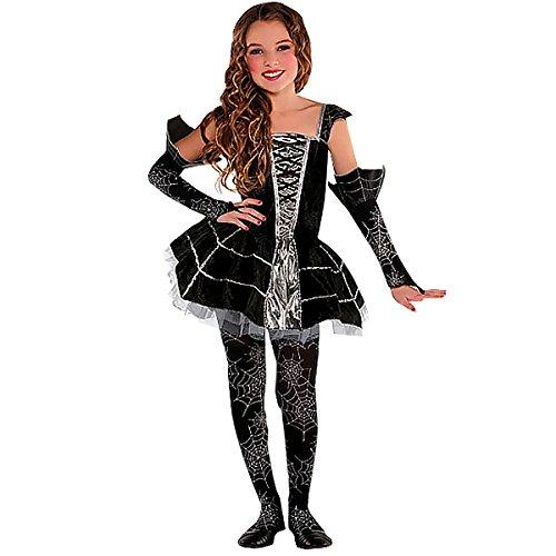 Fancy Dress - Midnight Mischief Costume - GIRLS AGE 8-10 - AMS997488 - Christys