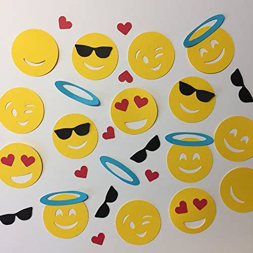 Amazon.com: Emoji Confetti: Handmade
