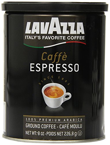Lavazza Caffe Espresso Ground Coffee, 8-Ounce Cans for sale  Delivered anywhere in USA