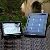 Solar Floodlight; 30 LED Outdoor Security Light; Solar Flood Light Landscape lamp for Lawn, Garden, Road, Hotel,Pool Pond, etc.