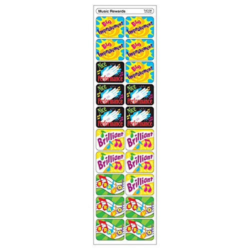 Applause Sheet Music - TREND enterprises, Inc. Music Rewards Applause STICKERS, 100 ct.