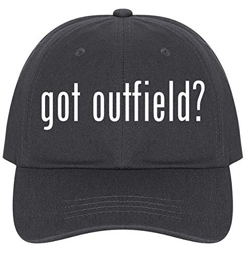 The Town Butler got Outfield? - A Nice Comfortable Adjustable Dad Hat Cap, Dark Grey, One Size