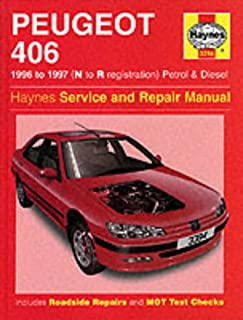 peugeot 406 petrol diesel mar 99 02 haynes repair manual march rh amazon co uk Peugeot 407 Coupe Review Peugeot 406 Coupe Tuning