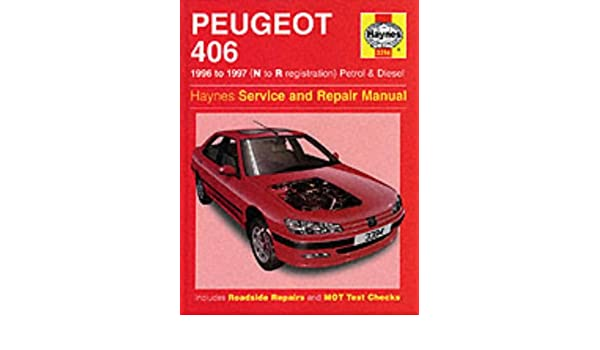 peugeot 406 service repair manual haynes service and repair manuals rh amazon com Peugeot 407 Manual Peugeot 406 Manual Model 2003